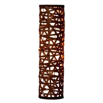 Lámpara de Pie Bamboo Café 1 Luz E27