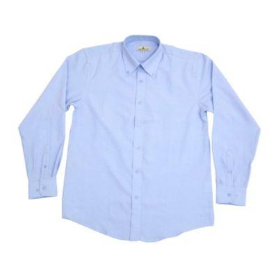 Camisa Oxford Celeste Talla M
