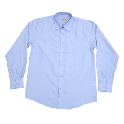 Camisa Oxford Celeste Talla L