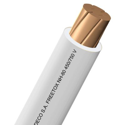 Cable LH 4 mm Blanco x 100 m