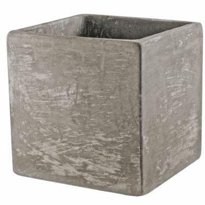 Macetero Cemento 25 x 25 x 25 cm