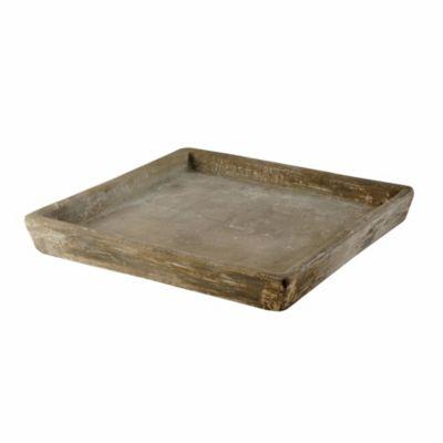 Plato de cemento cubo 31 cm