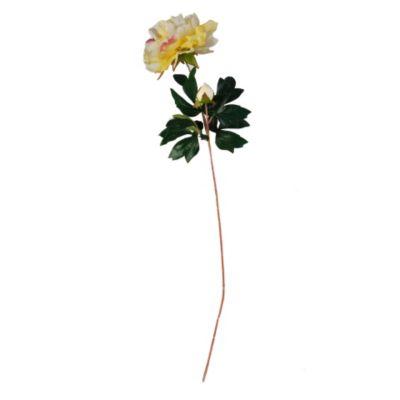 Peonia flores seda 75 cm