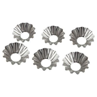 Set 6 moldes metálicos