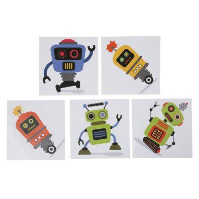 Mosaico multicolor autoadhesivo Robot