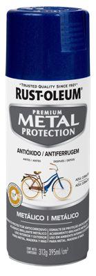 Aerosol  protector de superfices metalicas, Metal Protection Metálico Azul Cobalto 312Gr
