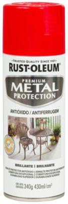 Aerosol  protector de superfices metalicas, Metal Protection Brillante Rojo Amanecer 340Gr