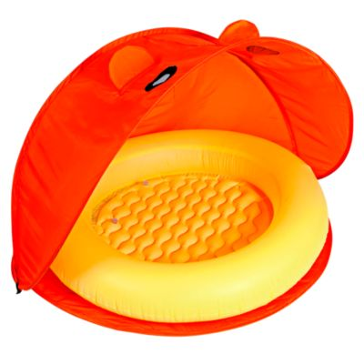 Piscina inflable con techo removible multicolor