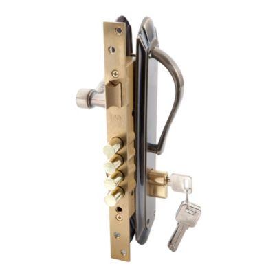 Kit cerradura + manijas bronce