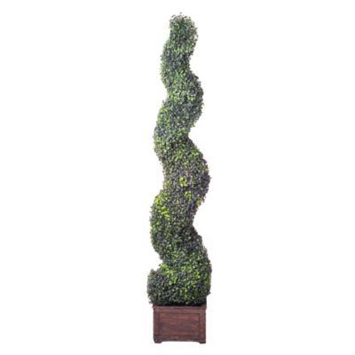 Árbol artificial espiral Deluxe 137 cm