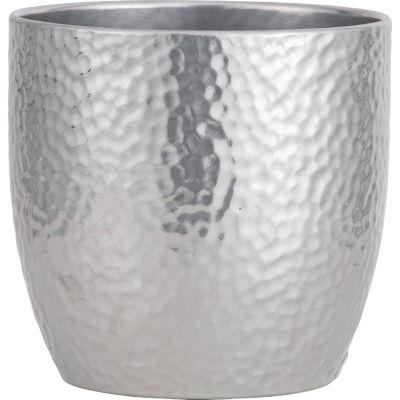 Maceta Boston Silver 19cm