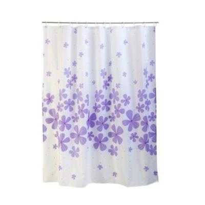 Cortina de baño Flores 180x180cm