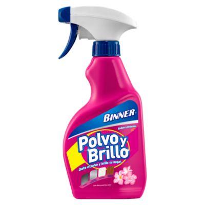 """Limpiador """"Polvo y Brillo"""" aroma floral 300ml"""