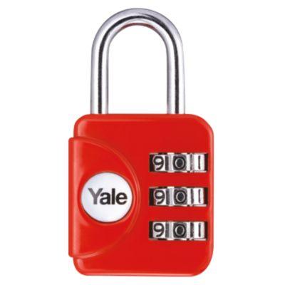 Candado Yale Serie Yp1 - Rojo