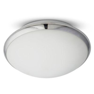 Plafón aro vidrio 2 luces