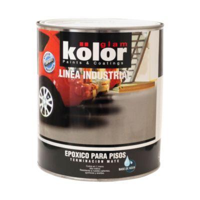 Pintura Kolor Epoxico para pisos gris