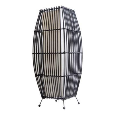 Lámpara de mesa Bambú 2 luces