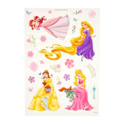 Deco sticker Princesas 35x50cm