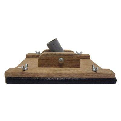 Taco lijador de madera para extensiones