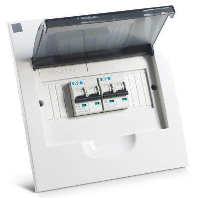 Tablero Empotrable Pvc 8 Polos E-Safe