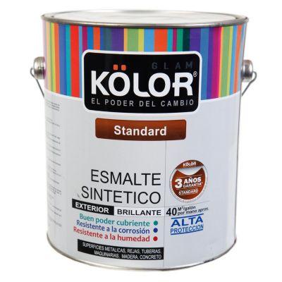 Esmalte sintético Estándar negro 1 gl