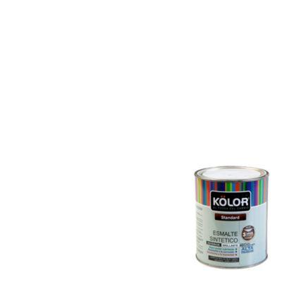 Esmalte sintético Estándar blanco 1/4 gl