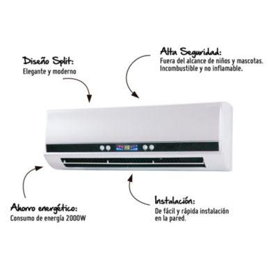 Calentador de pared WH1000 2000W