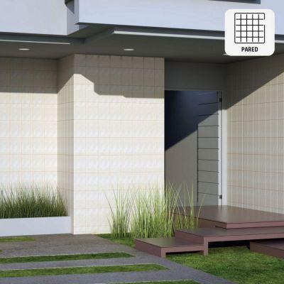 Cerámico Ibiza Beige Marmolizado 20x30cm para pared