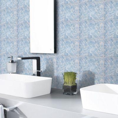 Cerámico Ibiza Azul Marmolizado 20x30cm para pared