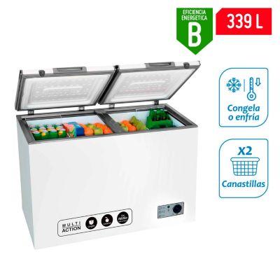 Congeladora 355L CH40