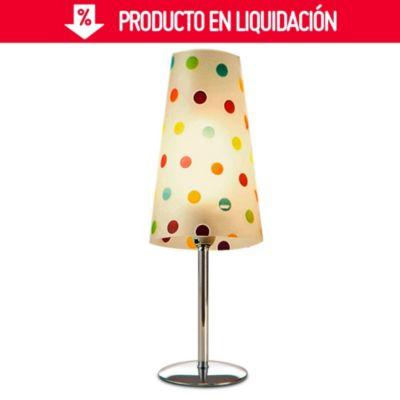 Lámpara de mesa cono circular