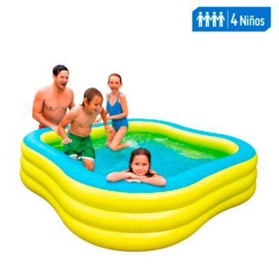 Piscina inflable Swim Center 229x229cm