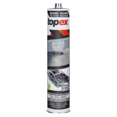 Adhesivo sellador de poliuretano 300 ml gris