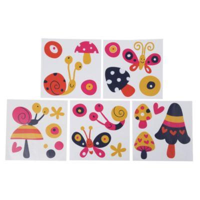 Mosaico multicolor autoadhesivo Caracoles