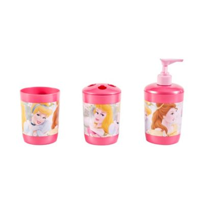 Set de baño Princesas 3 piezas