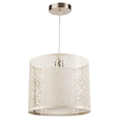 Lámpara colgante Marja bronce 1 luz