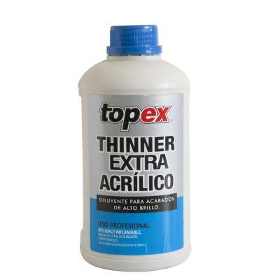 Thinner extra acrílico Profesional 1 L