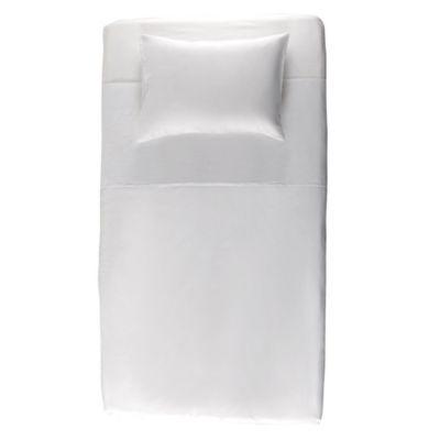 Juego de sábanas blanco