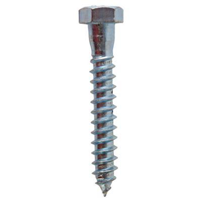 Tirafon hex 3/8x2 1/2 zinc 2und B15TFH-Y