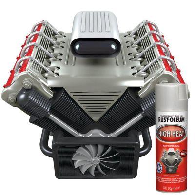 Spray Alta Temperatura aluminio 12 Oz