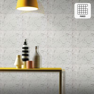 Cerámico Ibiza Gris Marmolizado 20x30cm para pared