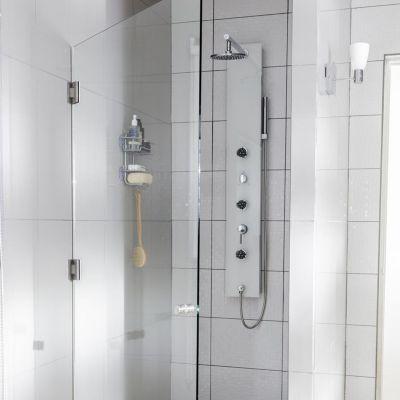 Cerámico Olas Blanco Liso 25x40cm para pared