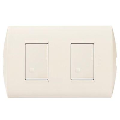 Interruptor doble 10 A 250 v