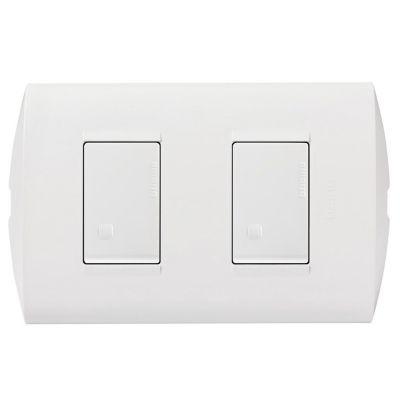 Interruptor Doble Modus Style Blanco