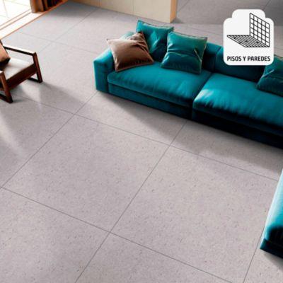 Gres Porcelánico Gris Rústico 60x60cm para piso o pared