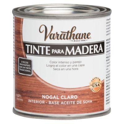 Tinte para Madera Varathane Nogal Claro 0,237L