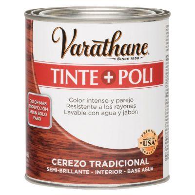 Tinte y Poliuretano Varathane Cerezo Tradicional 0,946L