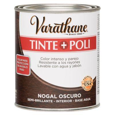 Tinte y Poliuretano Varathane Nogal Oscuro 0,946L