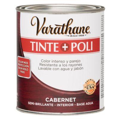 Tinte y Poliuretano Varathane Cabernet 0,946L