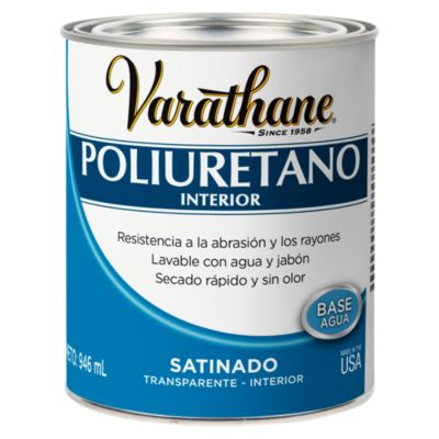 Poliuretano para madera de interior Varathane Satinado 0,946L